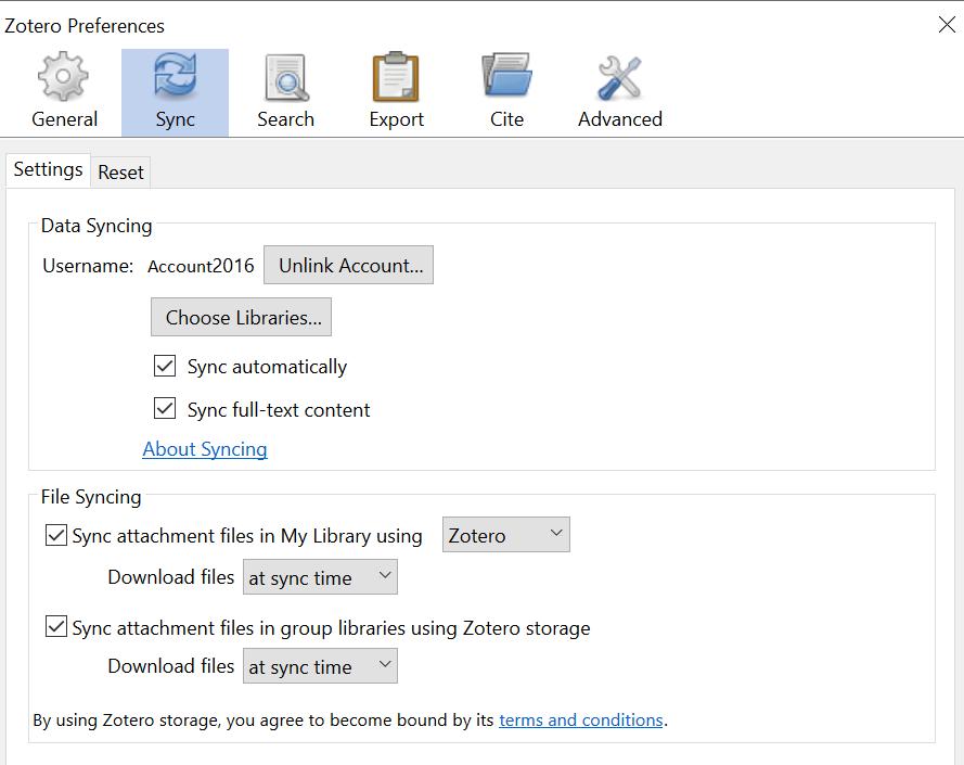 Desktop preferences sync 2 screenshot