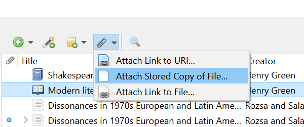 Paperclip icon screenshot