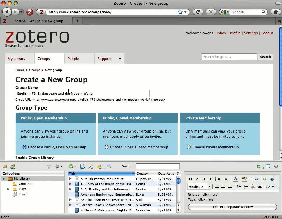 Groups Mac video