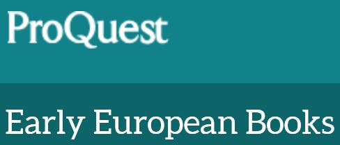 Early European Books Online