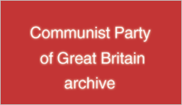 Communist Party of Great Britain archive