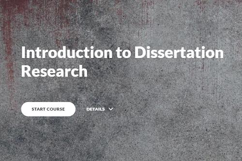 Dissertation Module 1: introduction