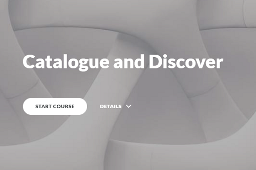 Dissertation Support: Module 2 - Catalogue & Discover