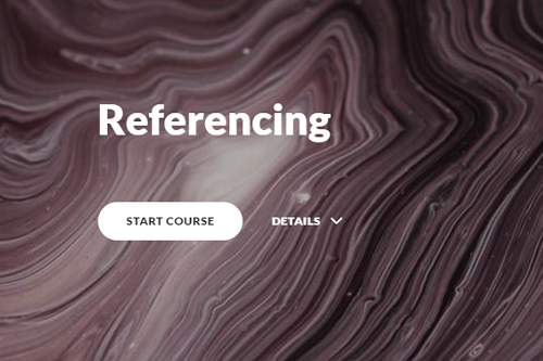 Dissertation Module 6: Referencing