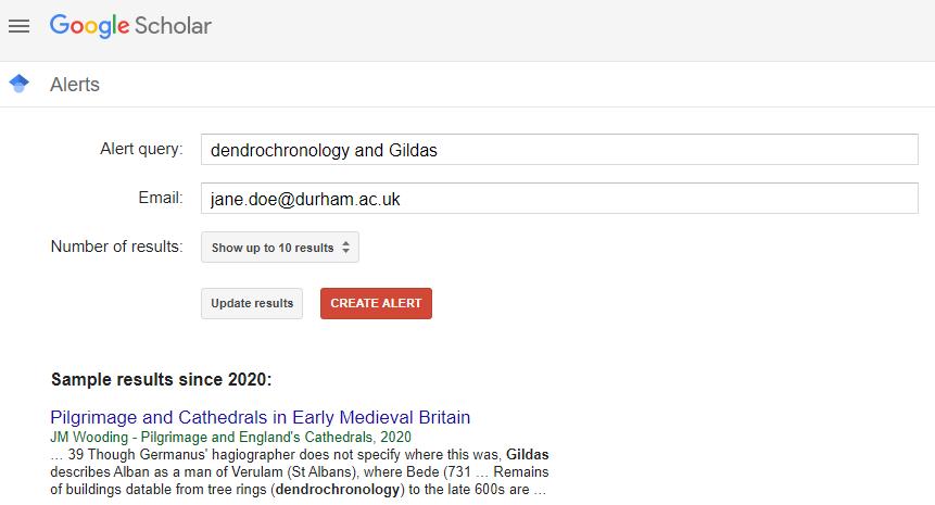 Google Scholar Alerts 002