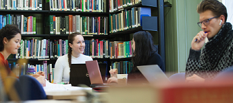 Psychology and Philosophy Library interior