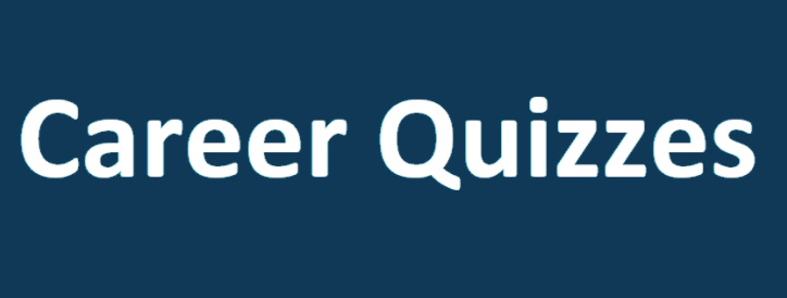 Career Quizzes