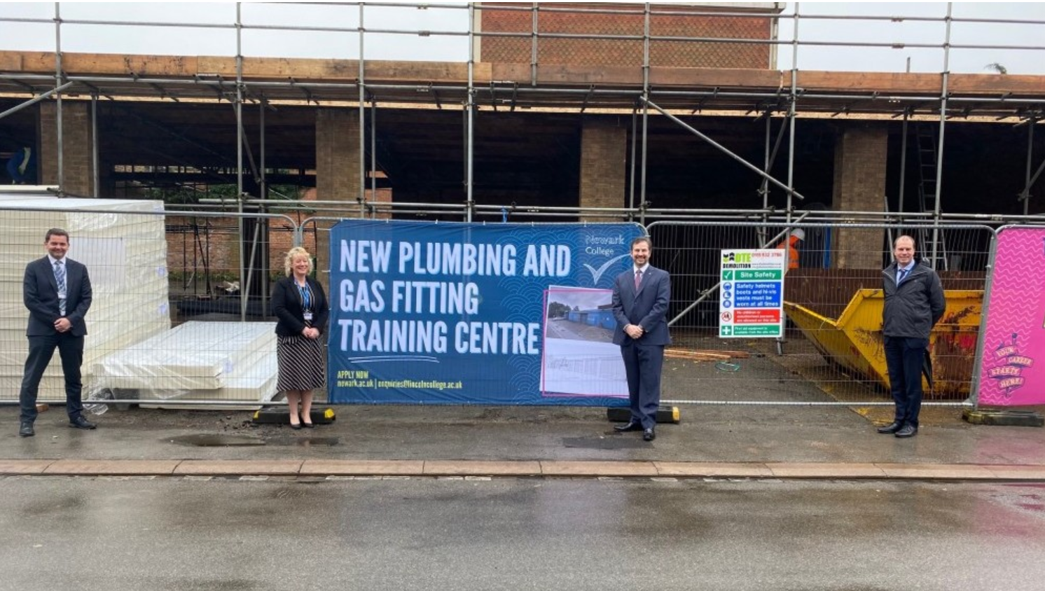 Newark College - Plumbing and Gas Fitting Training Centre