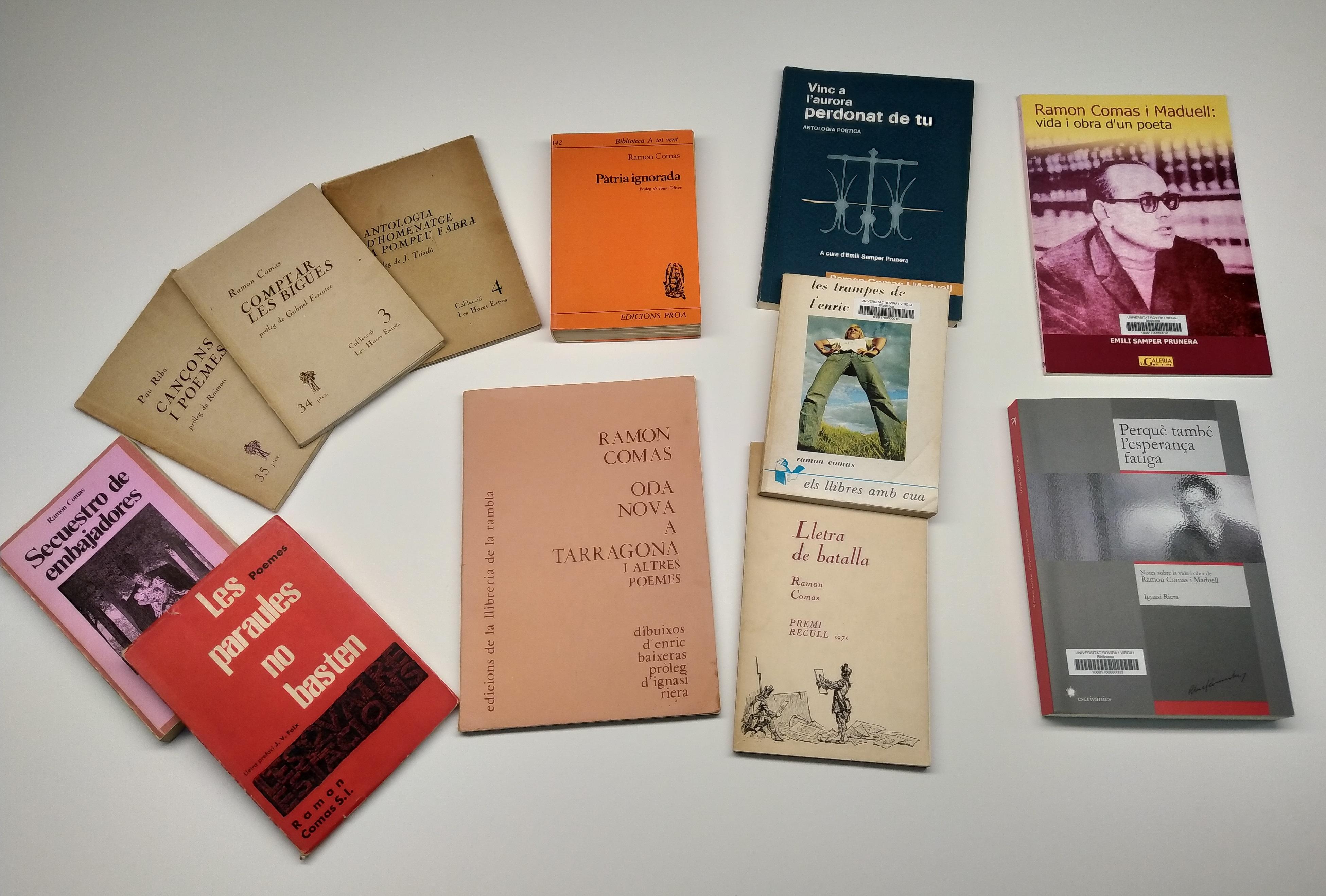 Llibres del Fons Ramon Comas I Maduell