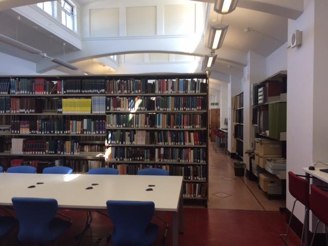 The Hebrew & Jewish Studies reading room