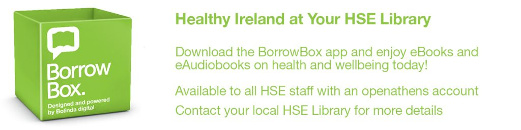 Borrowbox Health and Wellbeing ebooks and audiobooks