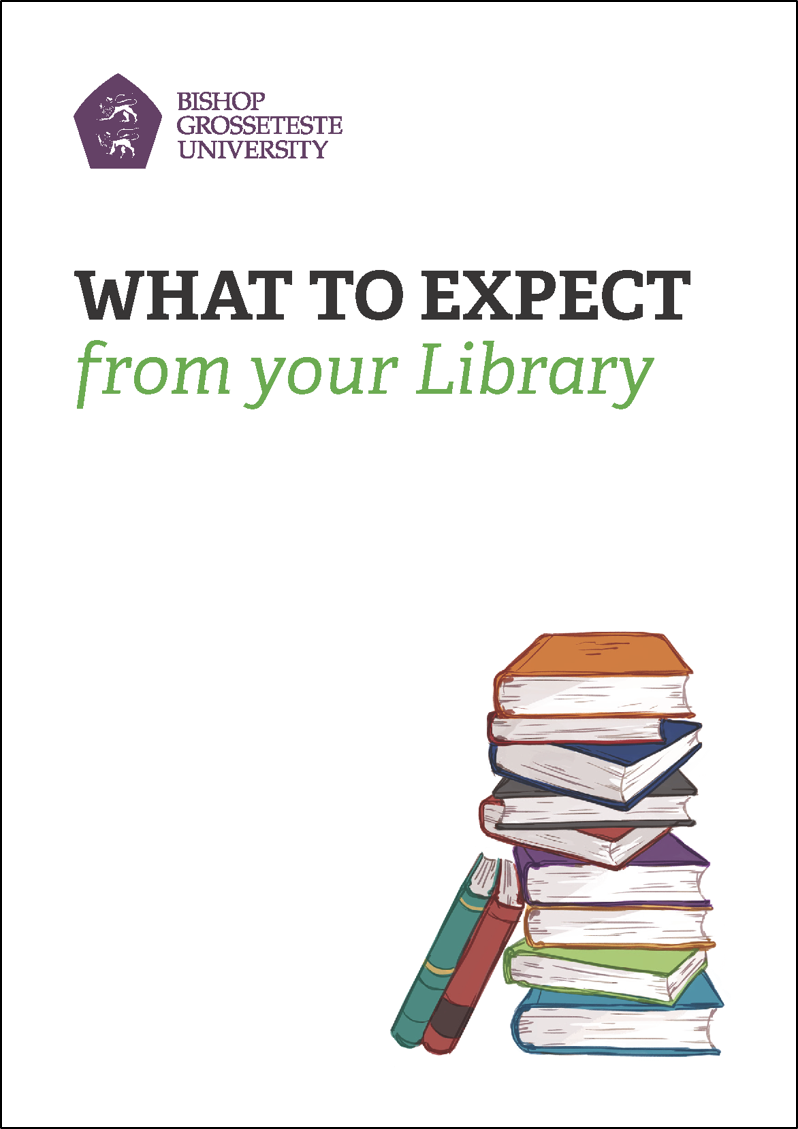 What to expect from your Library booklet