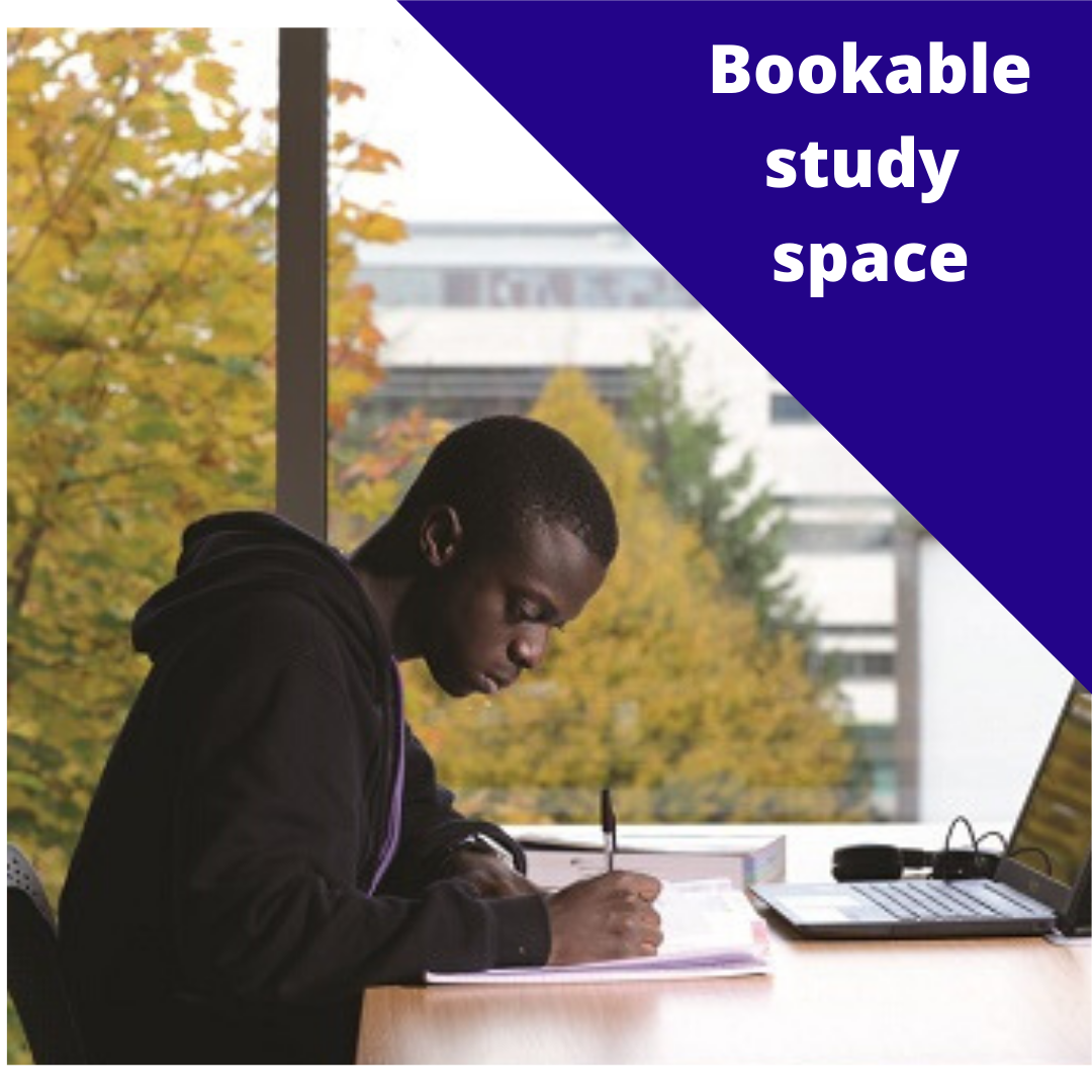 Bookable study space