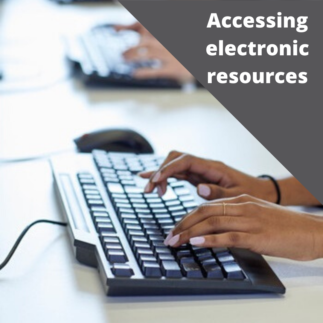 Accessing electronic resources