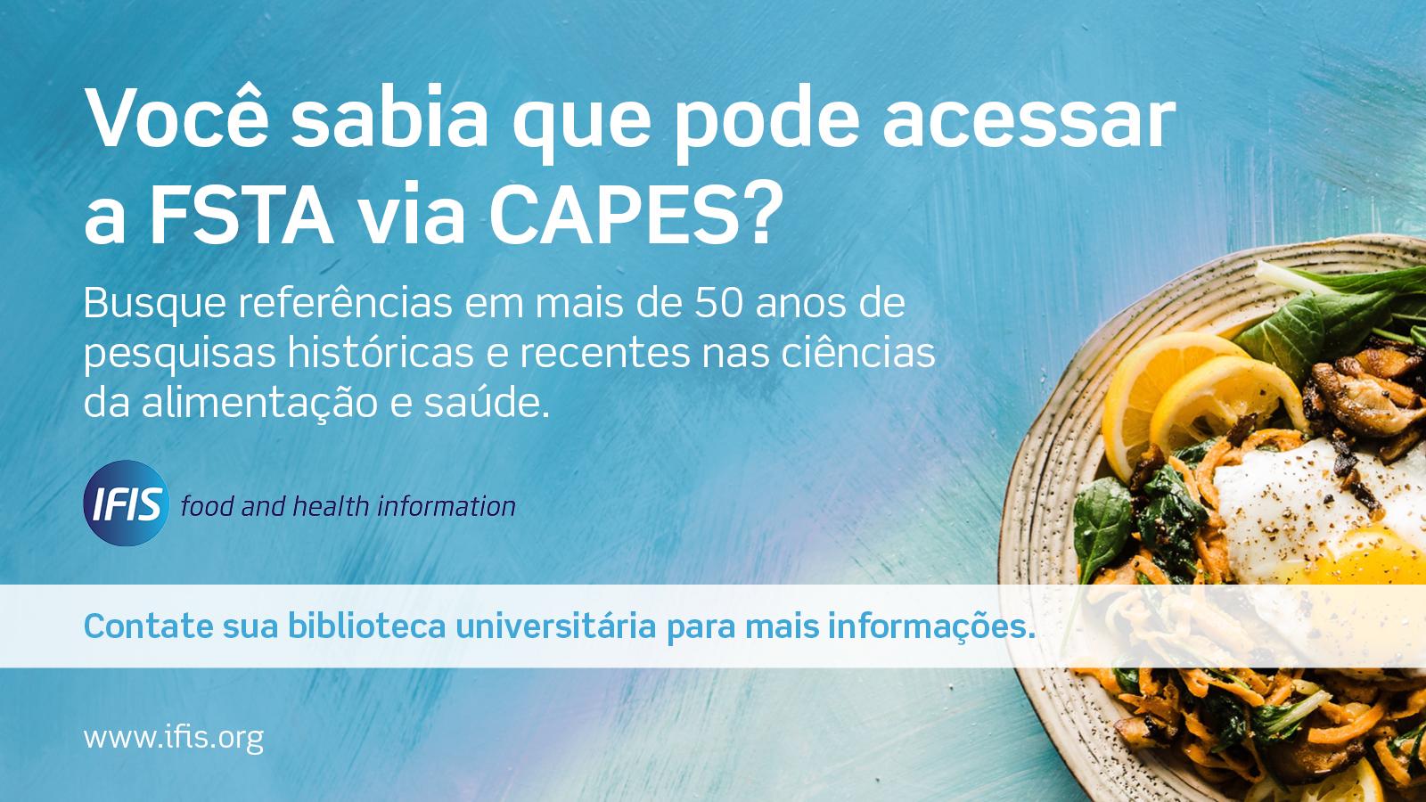 FSTA social media graphic - Portuguese