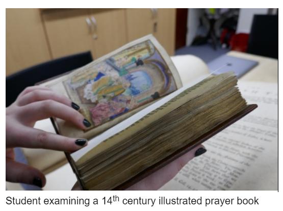 14th century illustrated prayer book