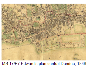 Edward's plan central Dundee 1846