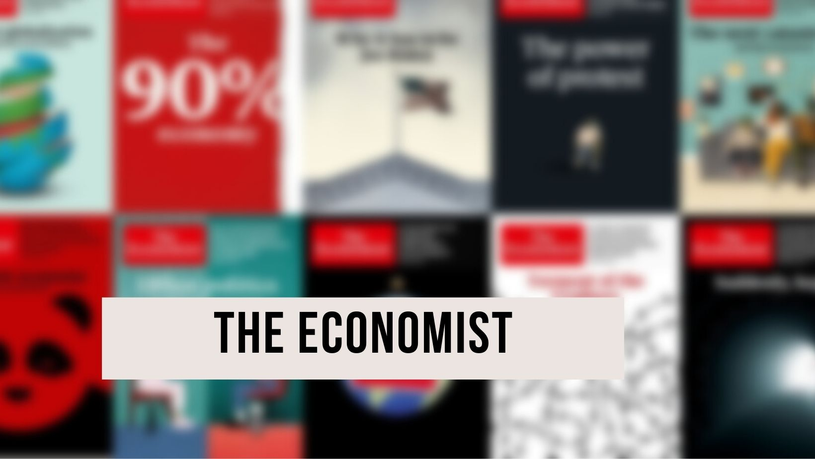 A picture of the Economist
