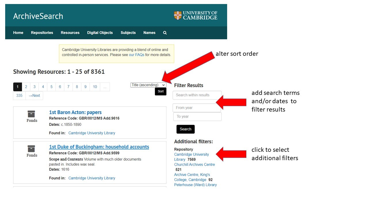 Browsing resources in ArchiveSearch. Please contact archivesearch@lib.cam.ac.uk for accessibility support.
