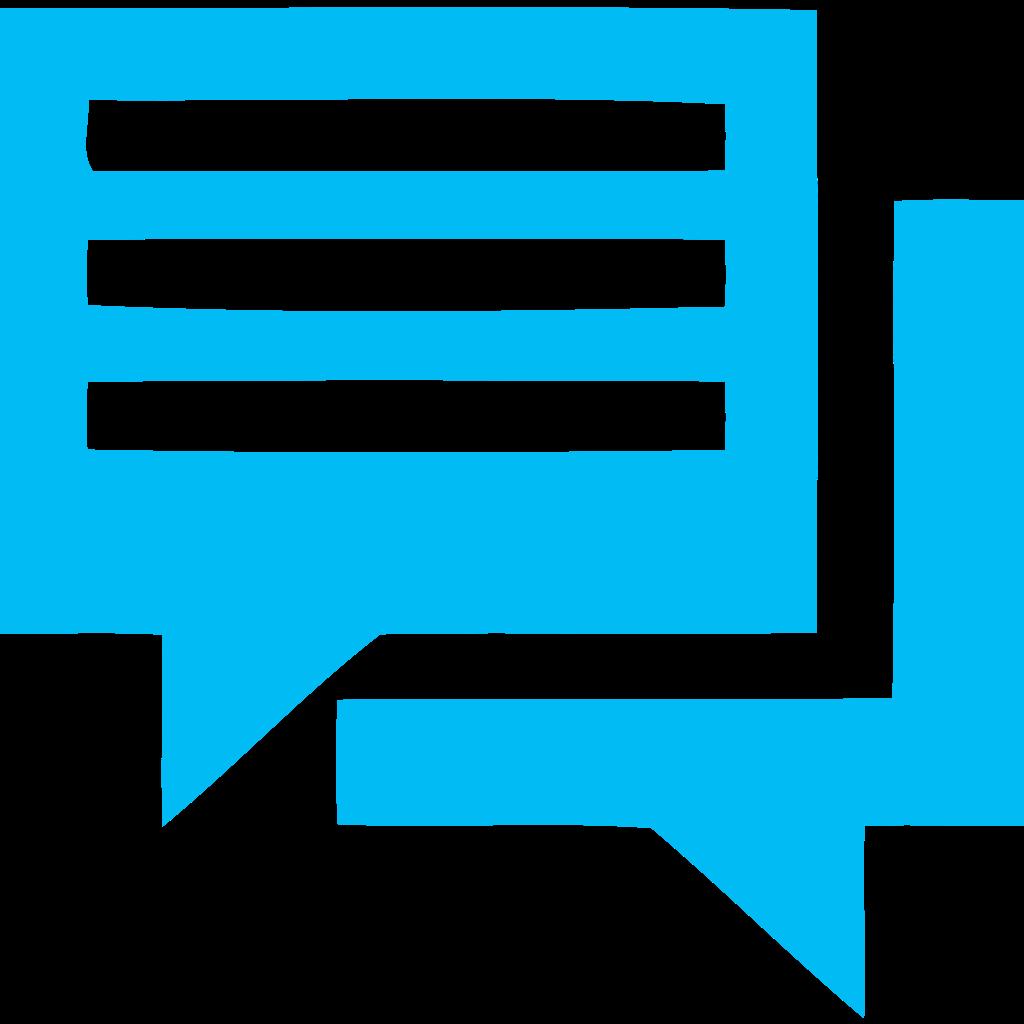 written chat