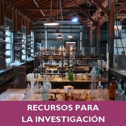 Recursos para la investigacion