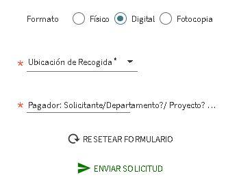 Preferencia del usuario para solicitud