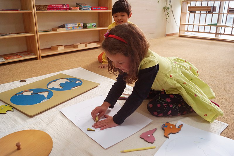 Geography in Montessori Early Childhood at QAIS