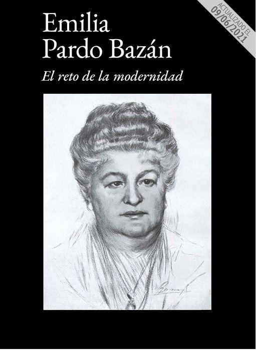 Portada del Madgazine de la exposición de Emilia Pardo Bazán de la BNE