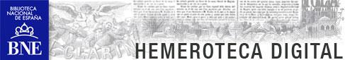 Logo Hemeroteca Digital BNE
