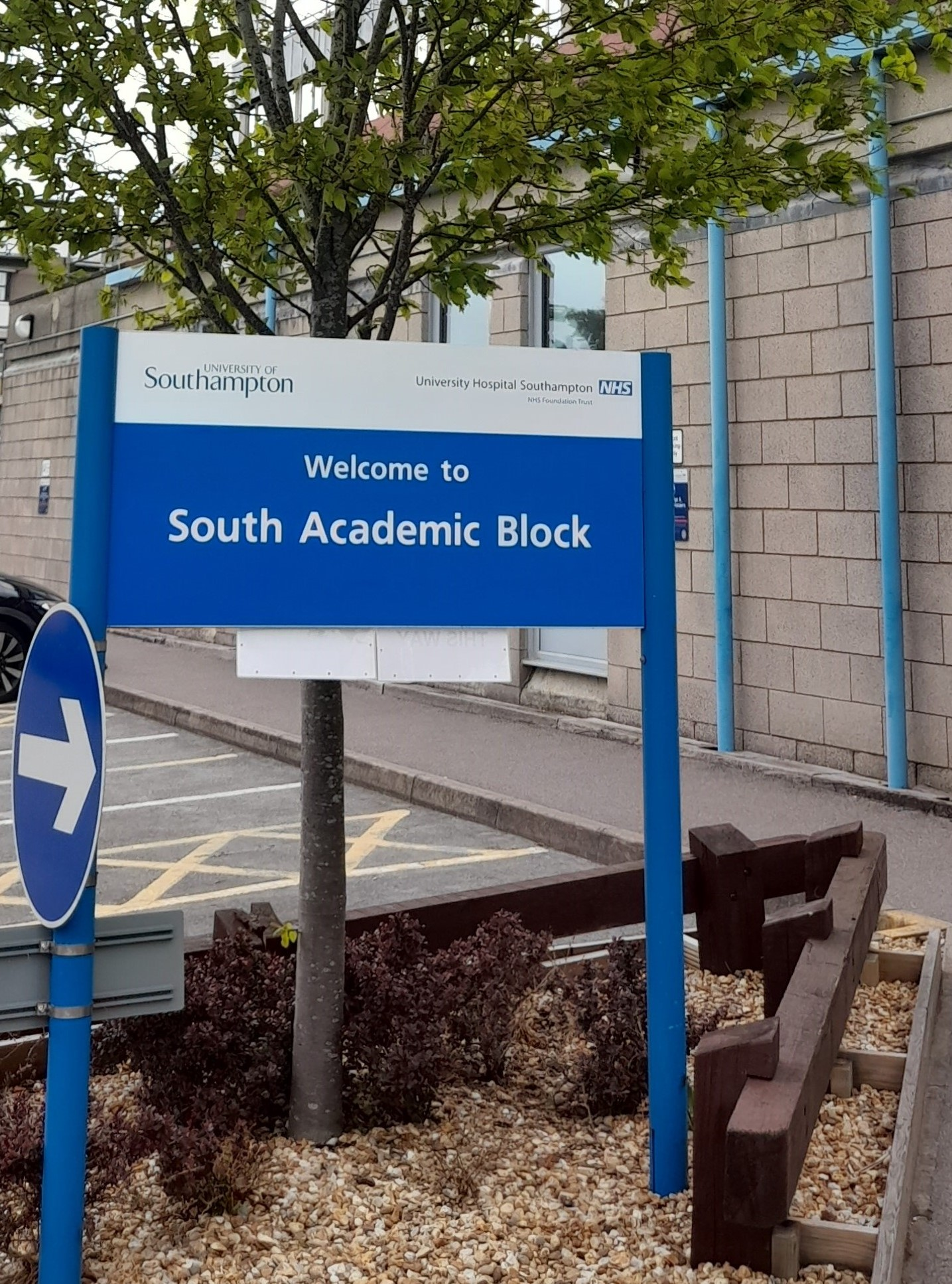 The South Academic Block entrance