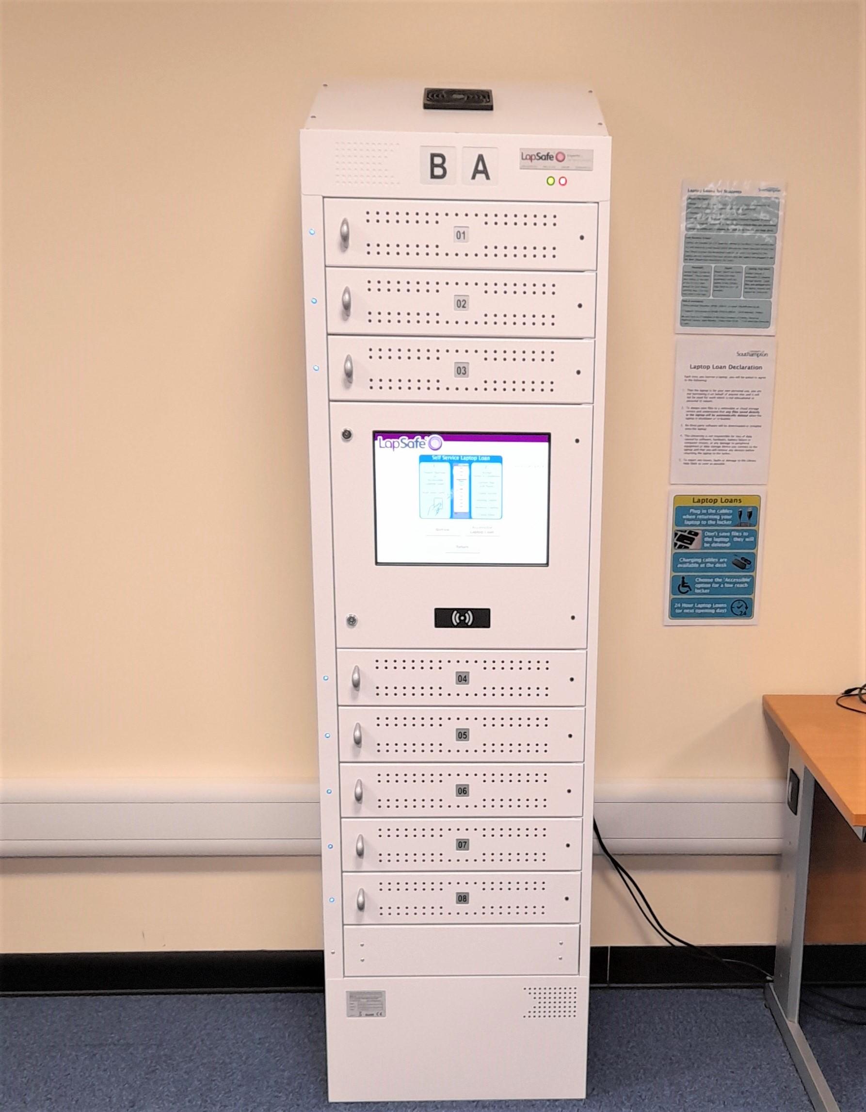 Laptop locker