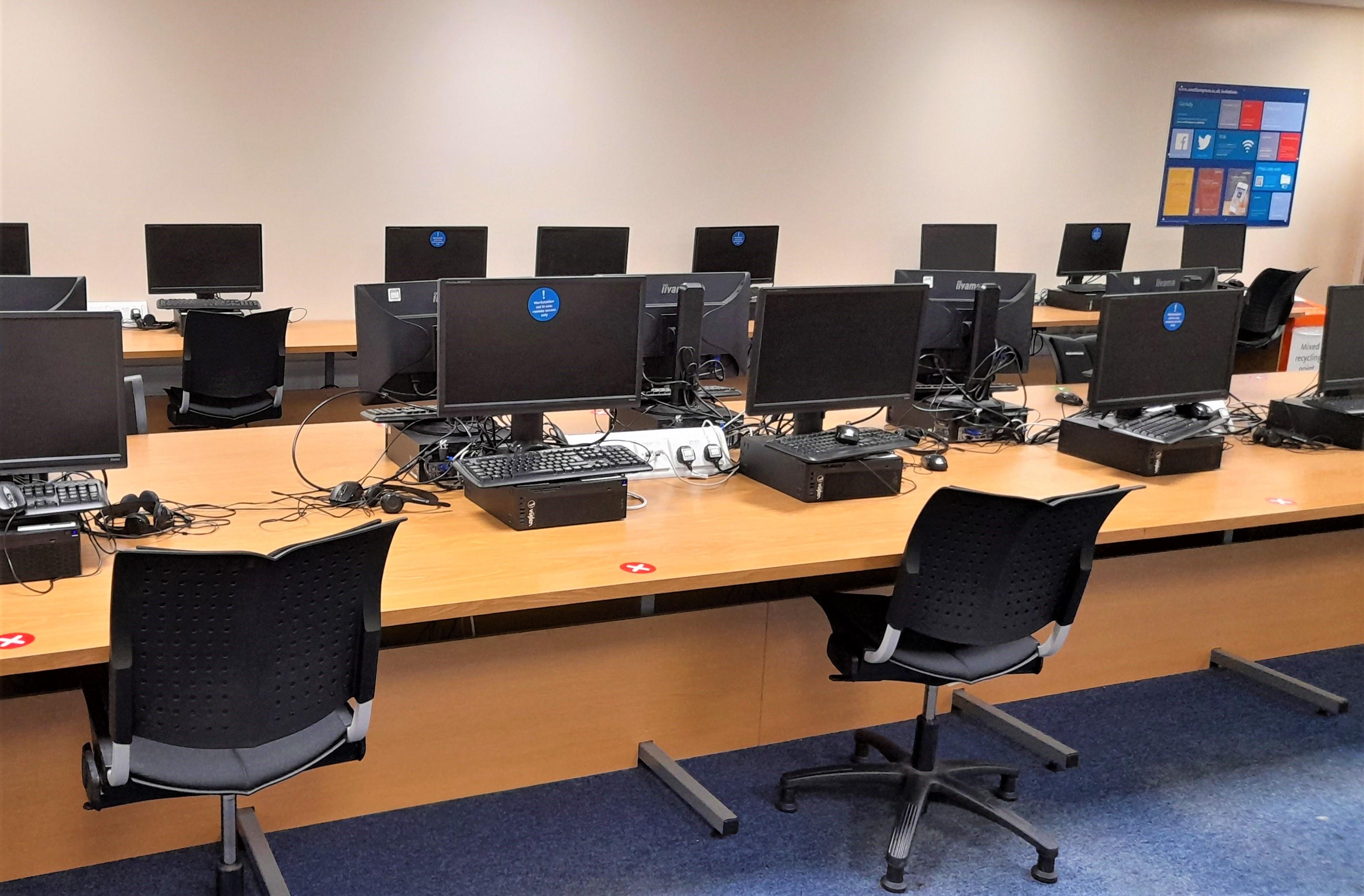Smart Classroom PCs.
