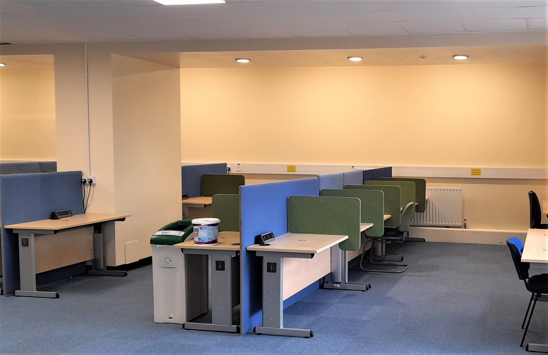 Zone 6 quiet study area.