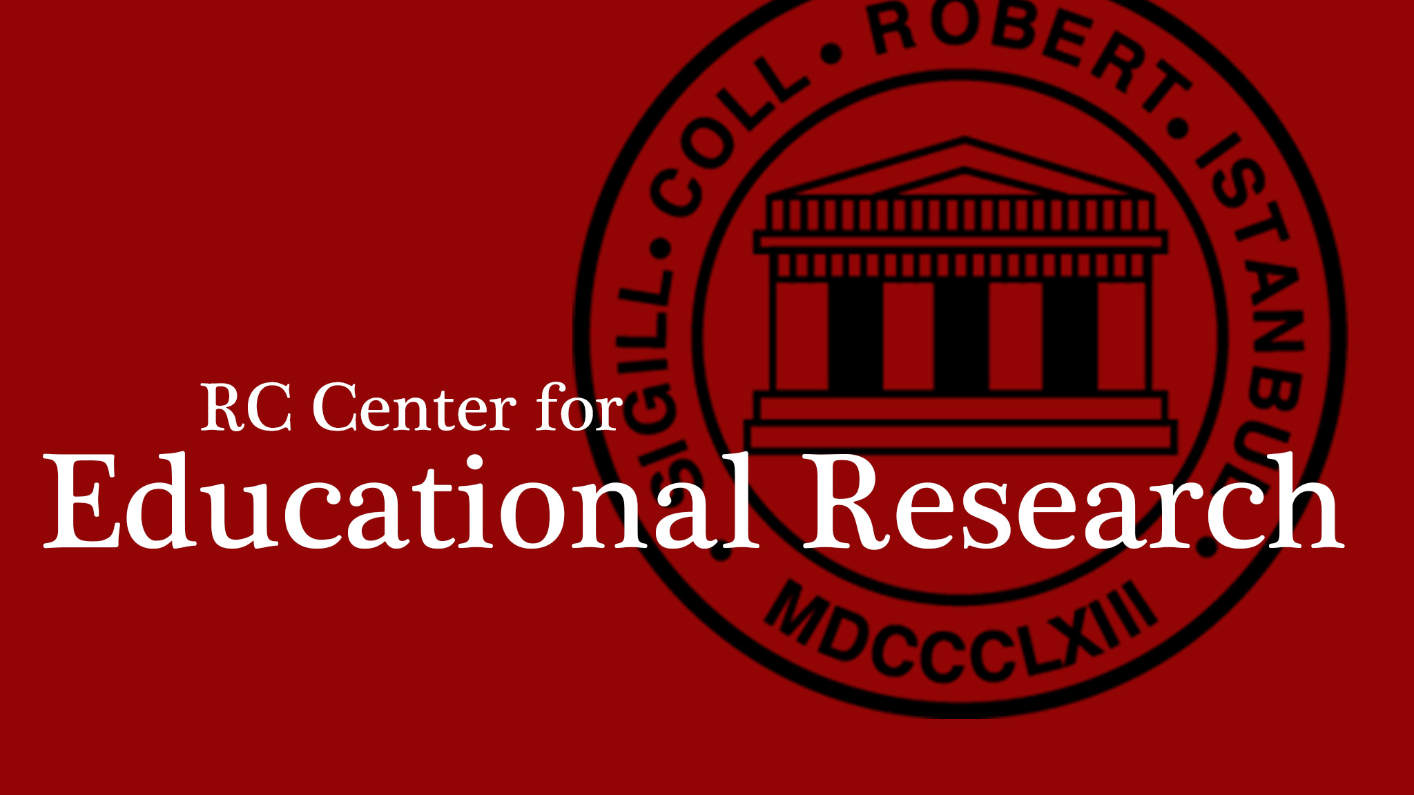 RC Center for Educational Research Logo