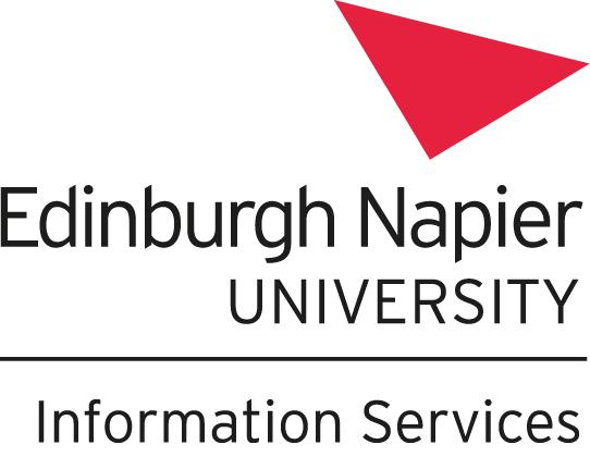 Edinburgh Napier University Information Services logo