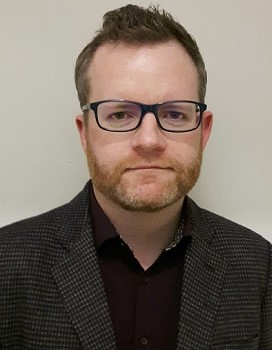 Image of Robert O'Brien, School of Applied Sciences Subject Librarian