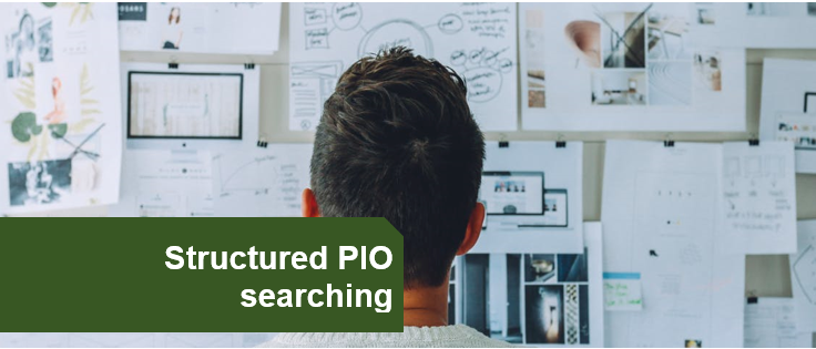 Structured PIO searching