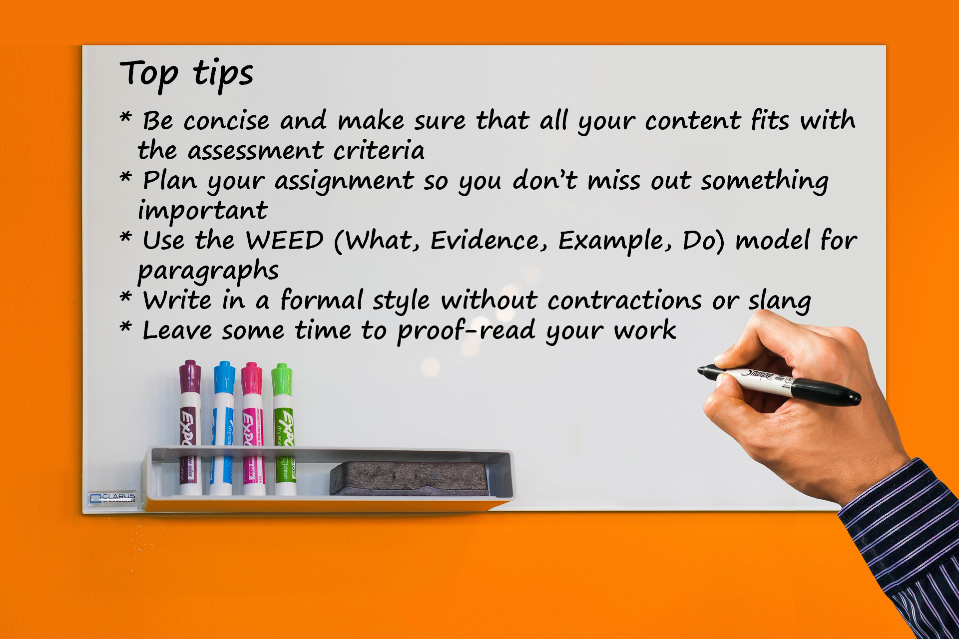 Top Tips for Academic Writing