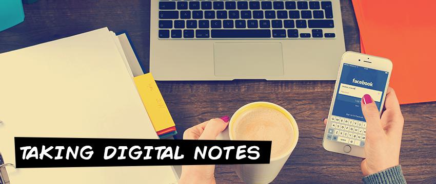 Taking digital notes