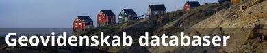 Geovidenskab databaser