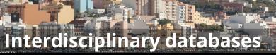 Interdisciplinary databases
