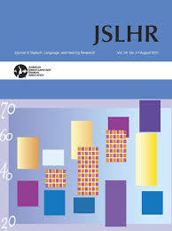 Journal of Speech, Language & Hearing Research