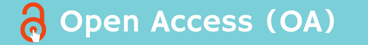 Banner heading titled Open Access with an image of an open lock