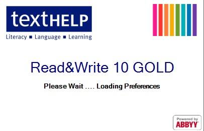 screenshot of read and write 10 gold starting page