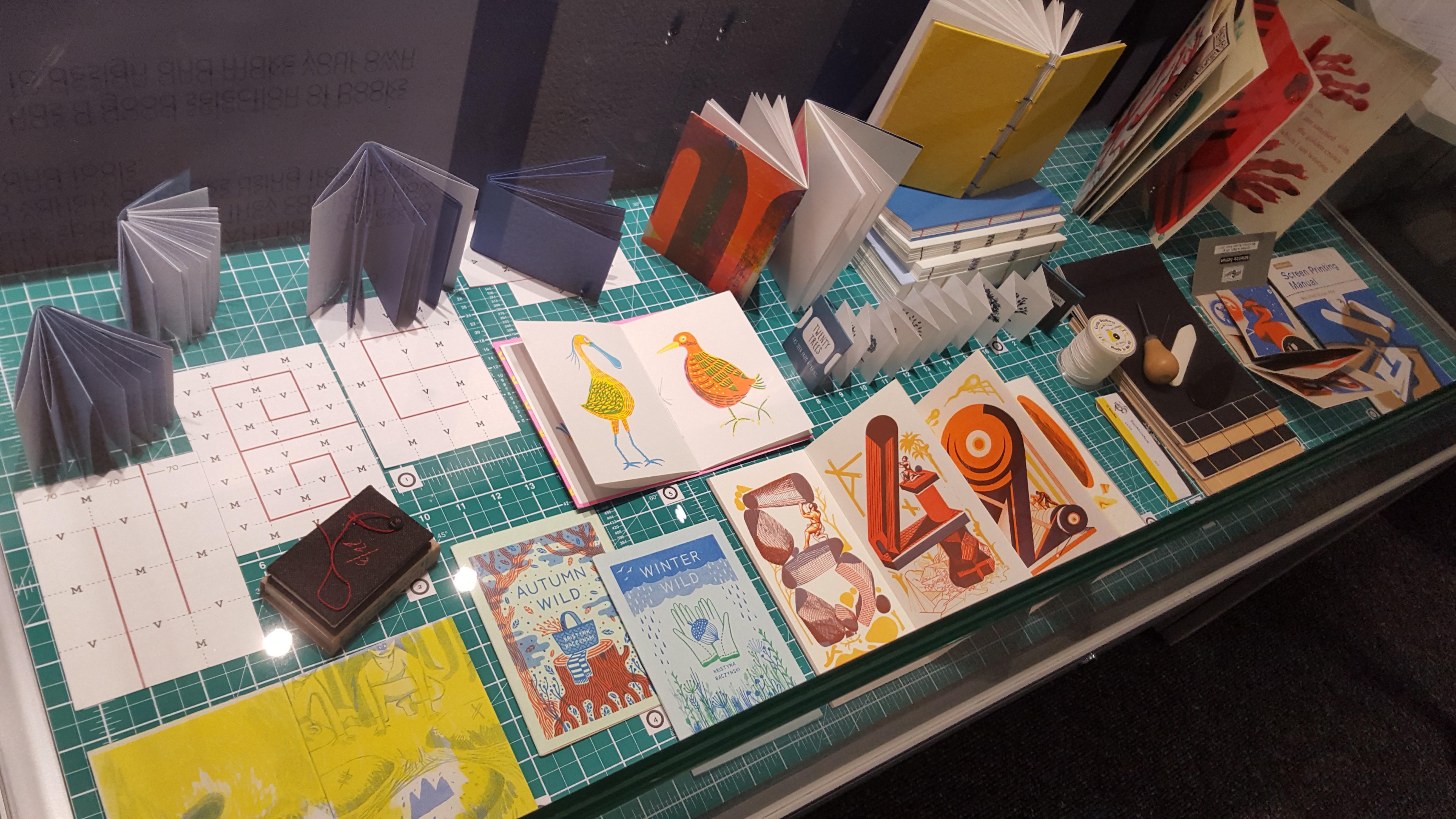 Book arts display