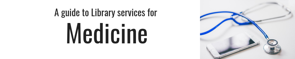 A guide to library services for medicine