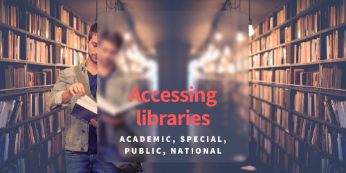 Accessing libraries