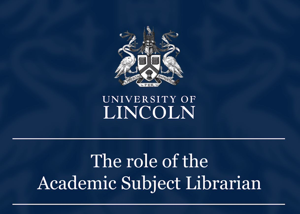 the role of the Academic Subject Librarian