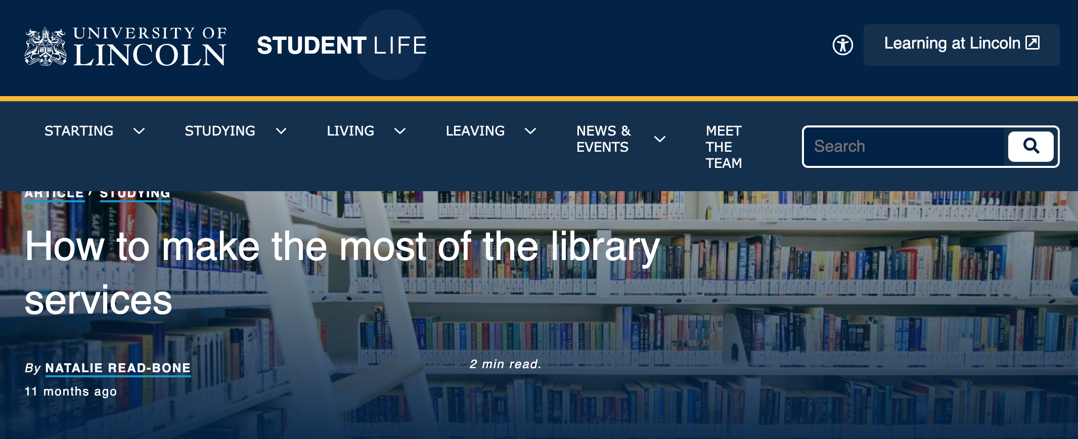 How to make the most of the library services