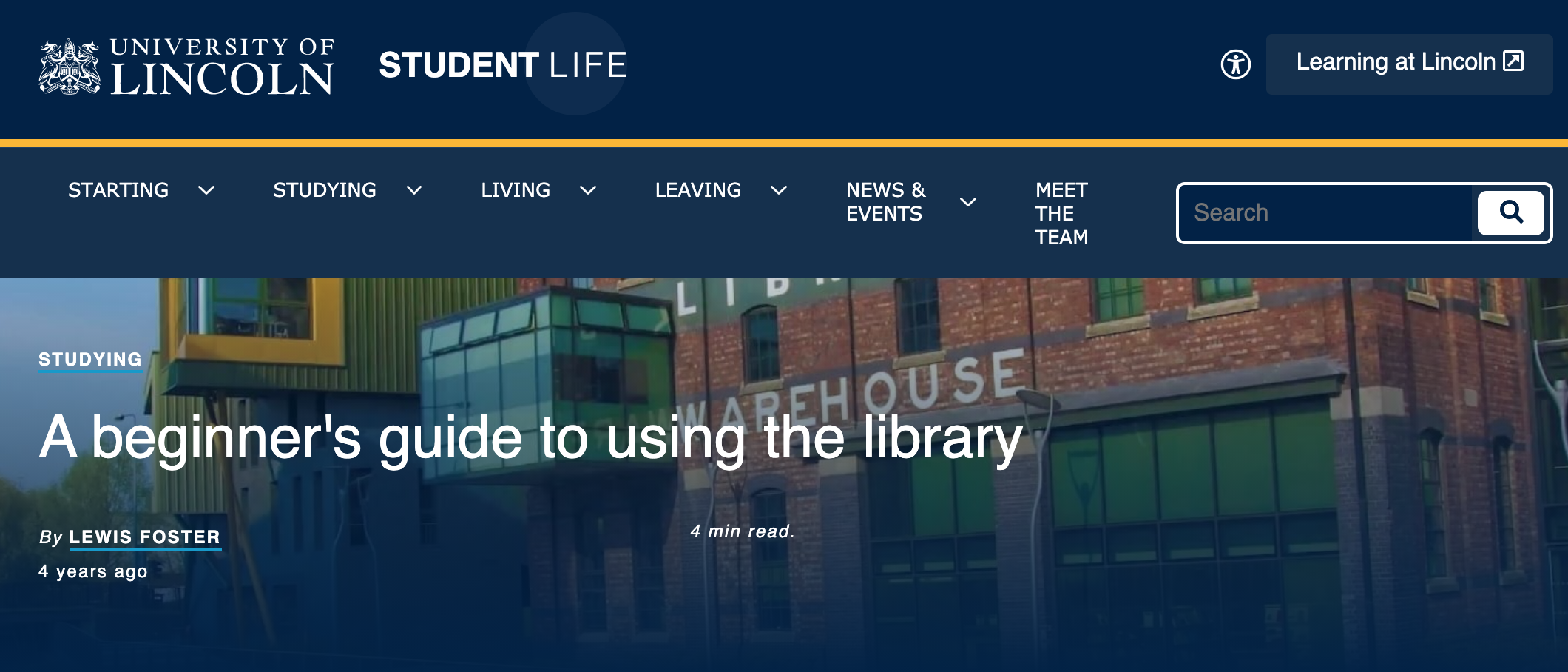 A beginner's guide to using the library